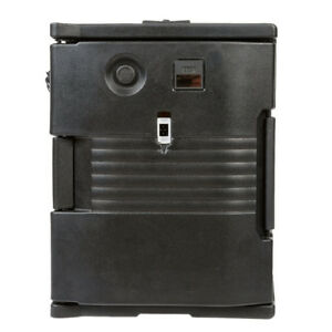 Cambro Upch400110 Black Ultra Pan Carrier Heated Holding Pan Carrier 110v