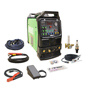 Powerpro 256s 250a Acdc Tig Arc Pulse Welder Nova 60a Plasma Cutter By Everlast