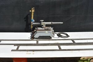 Used Victor Vcm 100 Track Torch Cutting Machine With Rails