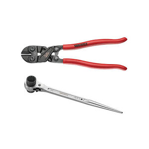 Scaffolding Wrench And Mini Bolt Cutters
