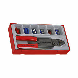 Teng Tools 121 Piece Crimping Tool Terminal Set