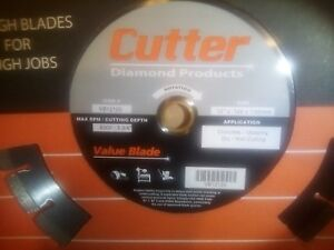 Diamond Concrete Cement Masonry Cutter Saw Blade 12 Inch Dry wet Vb12125