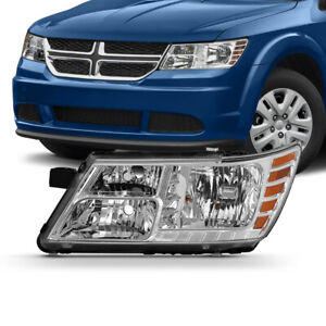 factory Style Replacement Headlight Left driver Side For 09 18 Dodge Journey