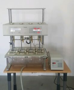 Vankel Varian Vk 7010 Dissolution Apparatus With Vk 750d 2 Sets Mixers