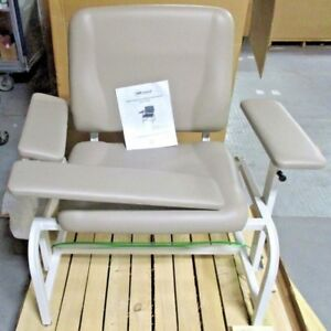 Umf Medical 8690 Bariatric Blood Draw Chair Mocha Color New