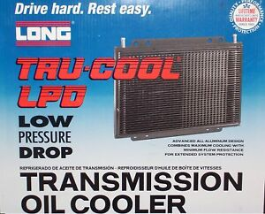 Tru Cool Lpd4588 Automatic Transmission Oil Cooler By Long Dana 4588 New Hd
