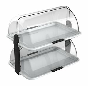 Cuisinox Double decker Countertop Bakery Display Case new