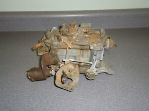 Rochester 4 Barrel Quadrajet Carburetor 17058228 1978 Chevrolet Corvette 350