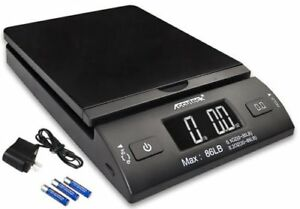 Accuteck 86lb All in one Black Digital Shipping Postal Scale W adapter