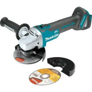 Makita Xag04z 18v Lxt Lithium ion Brushless Cordless 4 1 2 5