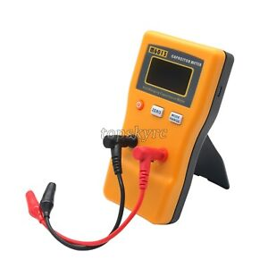 Lcd Digital Capacitor Capacitance Tester Larger Auto Range Multimeter Checker