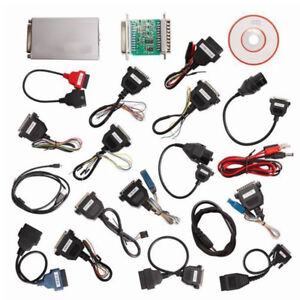 Ecu V10 05 Carprog Full Newest Version Ar Prog Programmer Tool W 21 Adapters