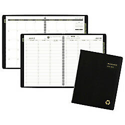 At a glance r Weekly monthly Academic Appointment Book planner 8 1 4in X 10