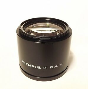 Olympus Df Plan 1x Stereo Zoom Microscope Objective Lens Szh