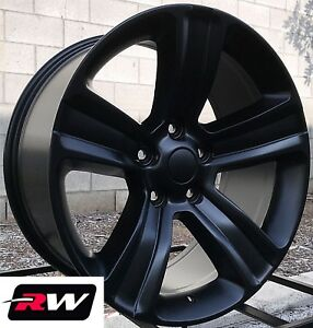 20 Rw Wheels For Dodge Ram 1500 20x9 Satin Black 2013 2017 Ram 1500 Style Rims