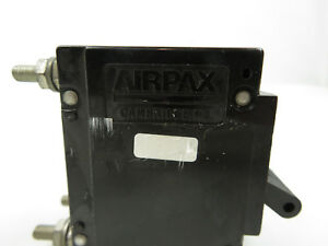 New Airpax Circuit Breaker Mag hydr Lever Upl11 2402 1 nd 2 Pole Panel Mount 20a