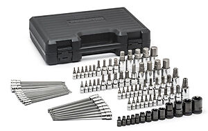 Gearwrench 80742 84 Piece Sae Metric Hex And Torx Bit Socket Set