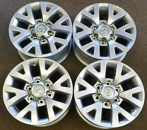 16 Toyota Tacoma Factory Oem Alloy Wheels Rims 16x7 2016 2019