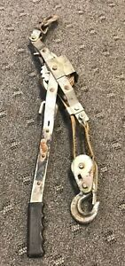 Maasdam Ratcheting 1 ton Strap Pow r Pull 12 Strap Length Come Along Ws 1