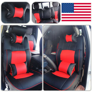 Seat Covers Armrest For 2009 2018 Dodge Ram 1500 2500 3500 Front Rear Cushion