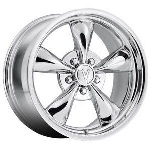 Replica By Voxx Mustang Bullet 17x9 5x4 5 Offset 24 Chrome qty Of 1