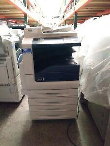 Xerox Workcentre 7855 Color Printer Copier Scanner Mfp Low Meter