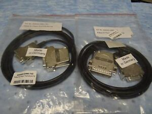 Zeiss Cable For Piezo Stage Wsb Piezo Drive 08 0490 742 Set Of 2 New