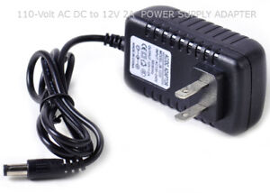 Ac To Dc 12v 2a Power Supply Adapter Cctv Security Camera Fujia lorex Swann