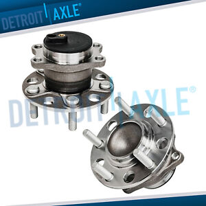 2007 2016 Jeep Compass Patriot Rear Wheel Bearing Hub Pair For Fwd Mk Only