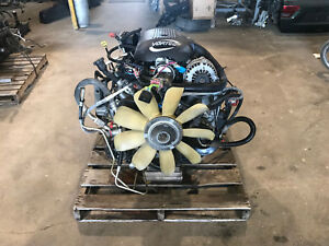 2002 Chevy Tahoe 5 3 Lm7 4x4 Engine Trans 4l60e Pull Out Ls1 Ls2 Ls6 120k Miles