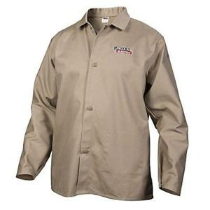 Lincoln Electric Khaki Xx large Flame resistant Cloth Welding Jacket