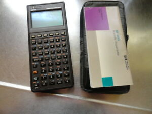 Hp Hewlett Packard 48sx Scientific Expandable Calculator Used Tested Works