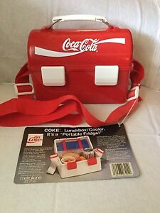 Vintage Coca Cola Lunchbox Cooler