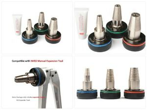 Iwiss 3 4 1 2 1 Auto Rotating Pex Expander Heads Works On Milwaukee Uponor