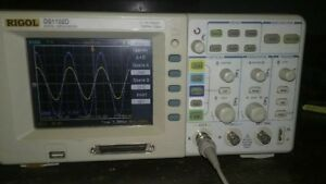 Oscilloscope Rigol Ds1102d 100mhz 1gsa s Perfect Condition