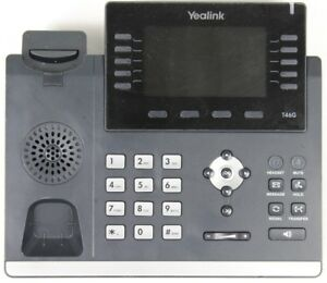 Yealink Sip t46g 6 line Gigabit Hd Ip Office Phone