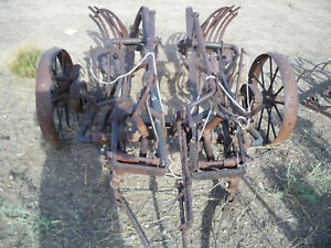 Antique Farm Equipment Plow Possibly John Deere