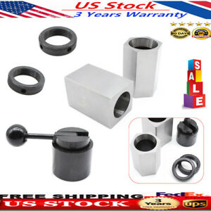 5c Collet Block Chuck Set Square square hex Acting Collecy Closer Holder Lathe