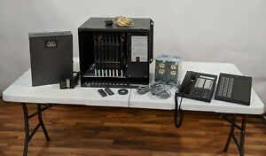 Vodavi Phone System Cabinet With Cards V Mail System Power Supplies 30 Phones