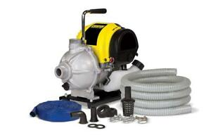 Champion 1 inch Gas powered Water Transfer Pump With Hose Kit