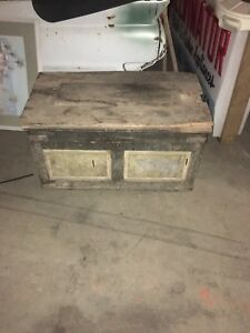 Turn Of The Century Antique Tool Chest