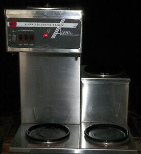 Curtis Commercial Coffee Maker Brewer Alpha 3sp
