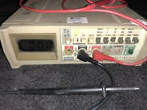 Fluke 8012a Digital Multimeter Powers Up Appears To Be Working