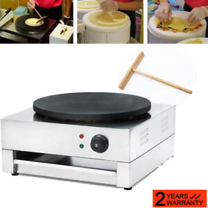dhl commercial Electric Crepe Maker Pancake Machine Single Hotplate Non Stick