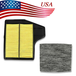 Combo Set Engine Air Filter Cabin Filter For Nissan Altima 4cyl 2 5l 2013 18
