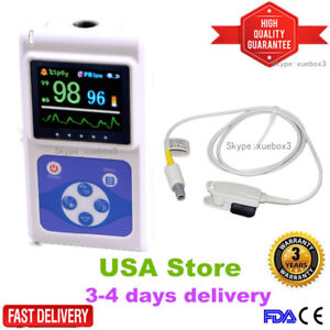 Contec Hand held Lcd Finger Pulse Oximeter Spo2 Pr Oximetry software Ce Fda hot