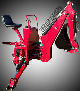 6 dig Compact Tractor Backhoe Self Contained Pto Powered Cat i 25hp vl bhm6