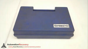 Shimpo Dt 105a Digital Tachometer Hand held 249509
