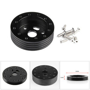 3 Hole 1 Hub For 6 Holes Steering Wheel Car Boss Spacer Adapter Grant Bolts