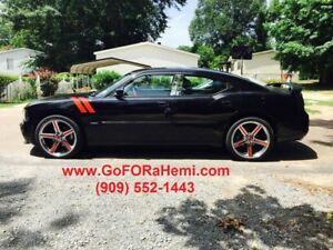 Chrysler 300 Dodge Charger Challenger Magnum 22 Inch Wheels Tires Rims 400red
